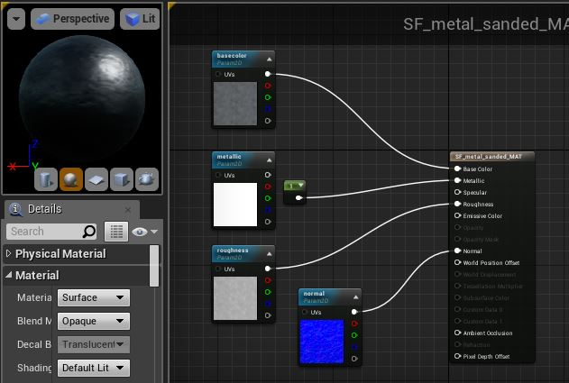 Substance looking different in UE4    again, I know