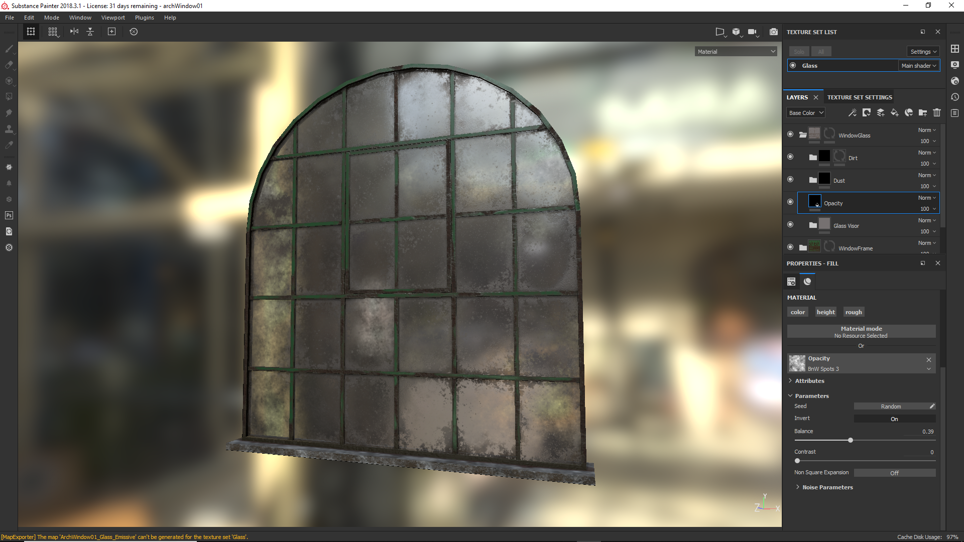 Opacity in UE4 what am I doing wrong?