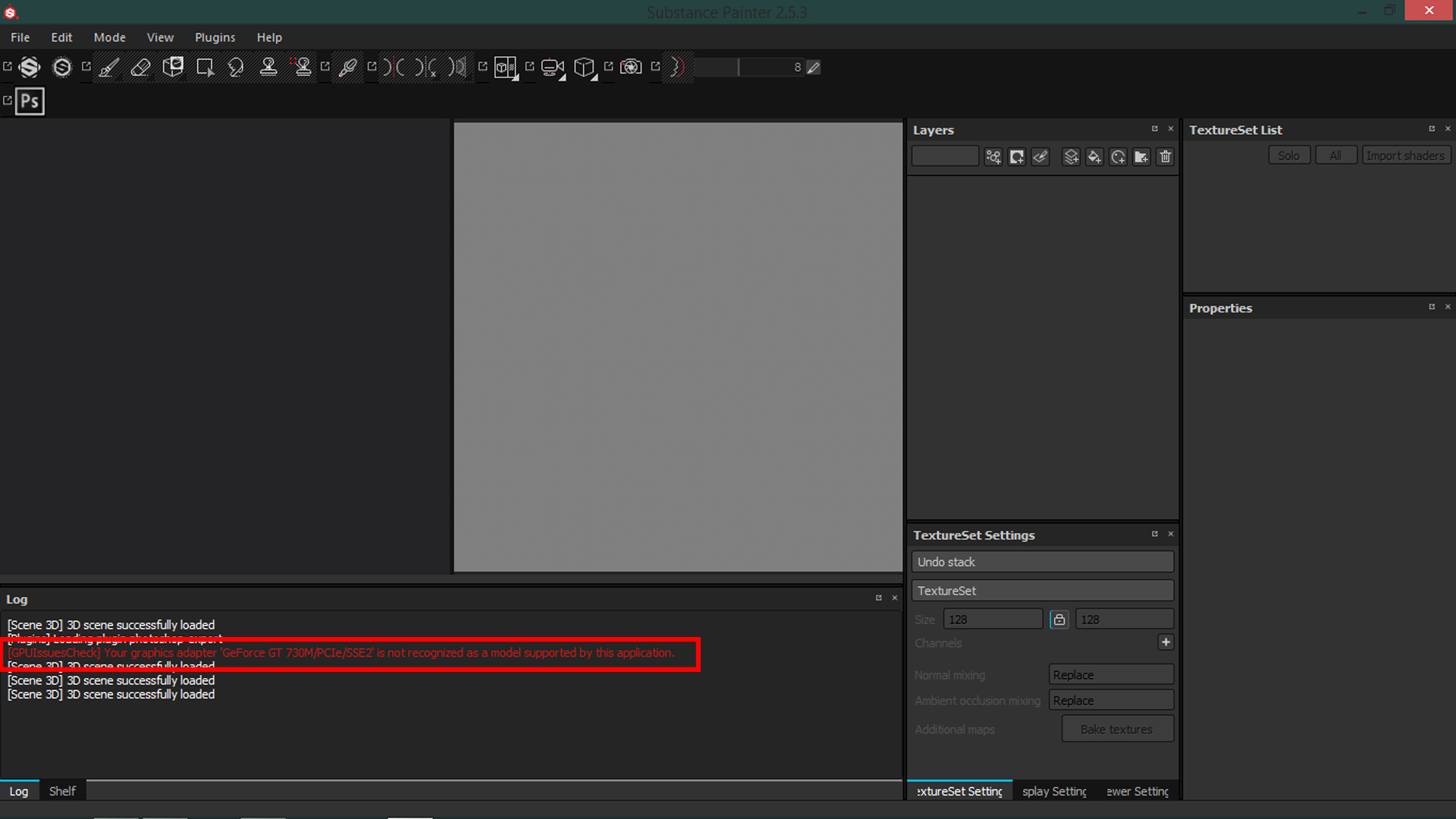 Issues exporting from 3ds max to substance painter 2 5