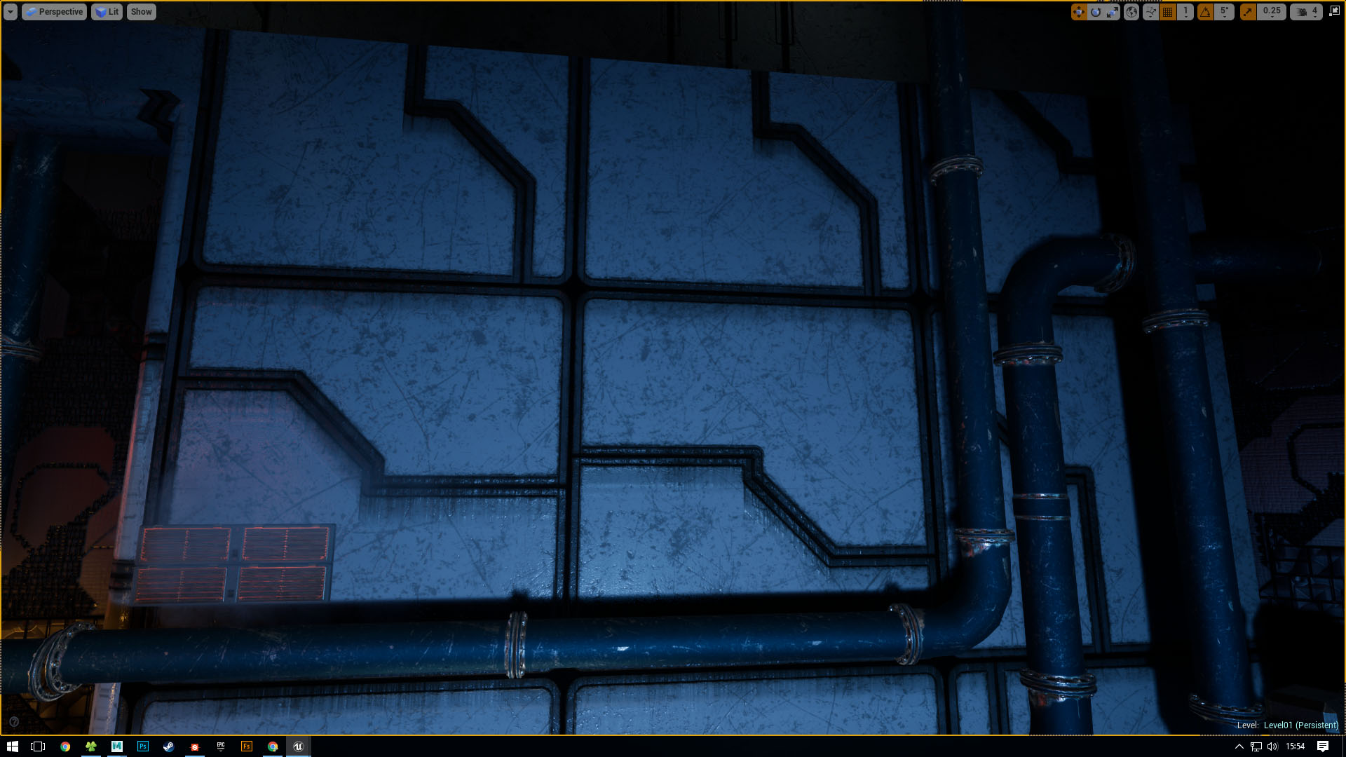 Parts of my Substance missing in UE4