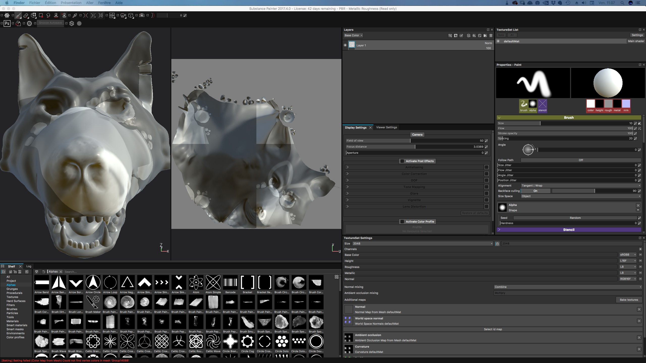 ZBrush 4r8 to substance wrong workflow