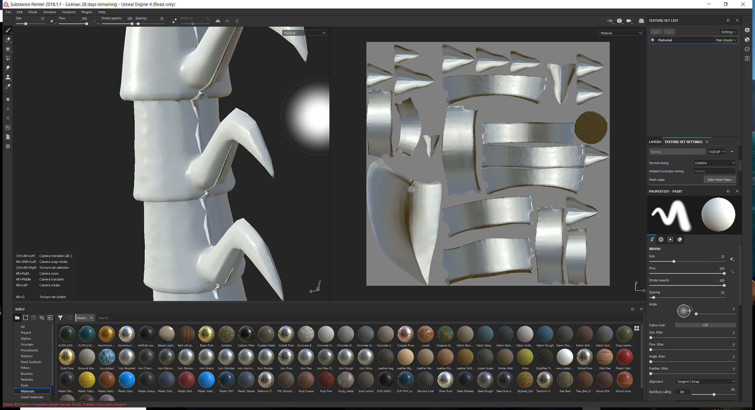 High poly to low poly artifacting  Trying to understand what